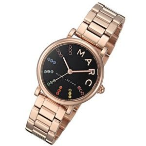 * Marc Jacobs MJ3569 Rose Gold Watch Rainbow